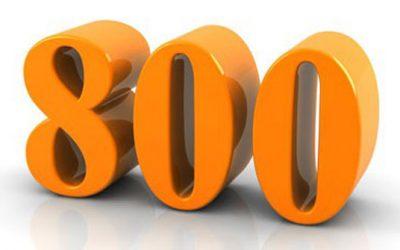800 keer